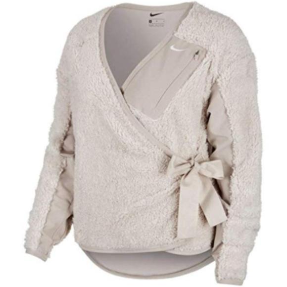 6ebd7247 Nike Jackets & Coats | Womens Long Sleeve Training Wrap Jacket ...